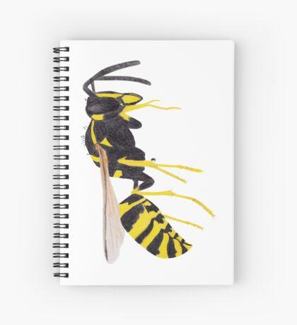 Paper Wasp Spiral Notebook