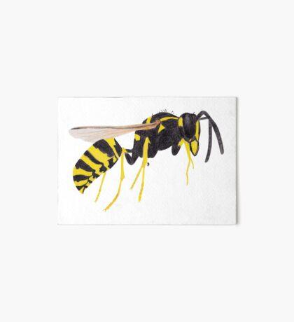Paper Wasp Art Board Print