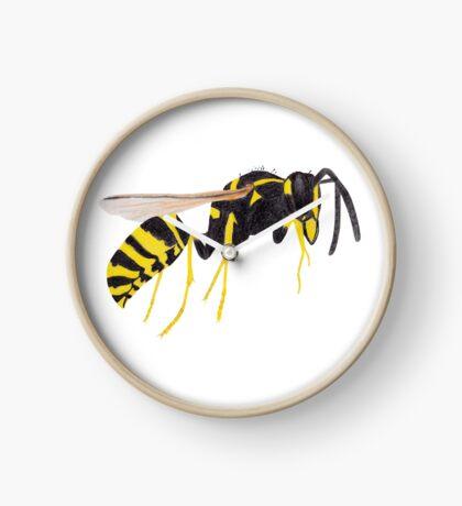 Paper Wasp Clock