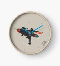 Sci-fi Ray Gun Clock