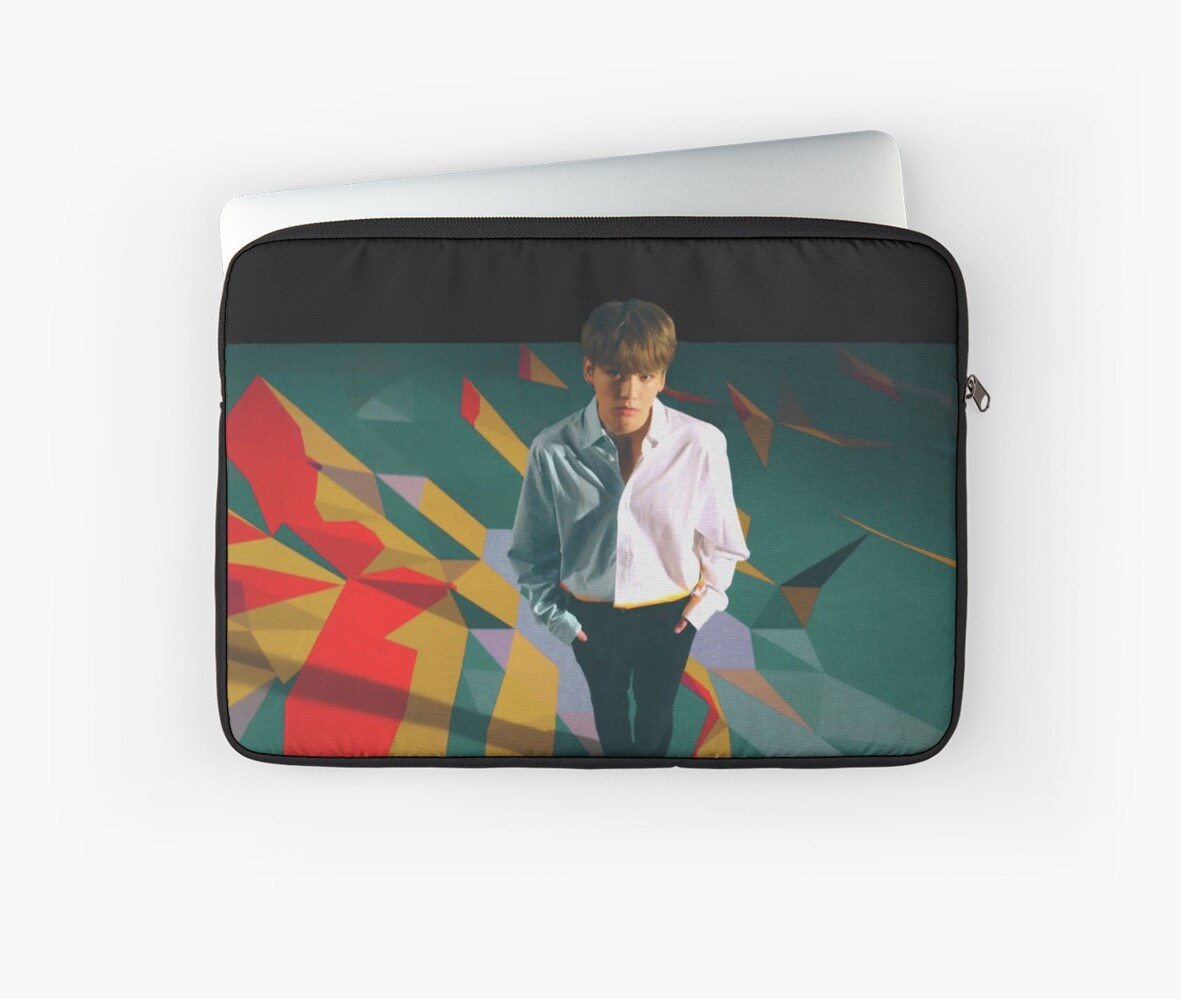 pretty nice 4fafc e1152 'BTS jungkook - dna' Laptop Sleeve by mbtae
