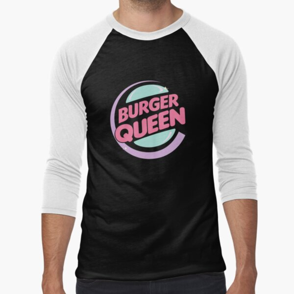 Burger Queen Camiseta ¾ estilo béisbol