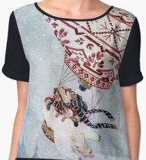 Hot Air Balloon Women's Chiffon Top