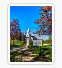 The Living Water Wayside Chapel Sticker