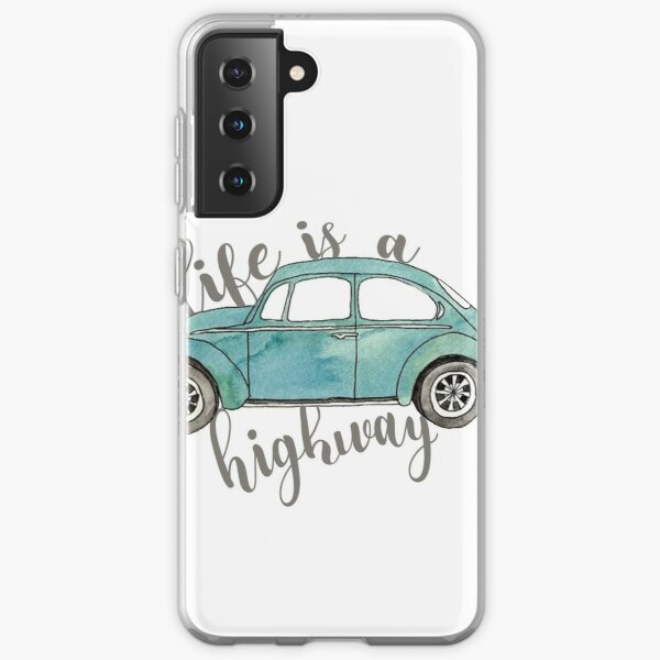 life is a highway Samsung Galaxy Soft Case