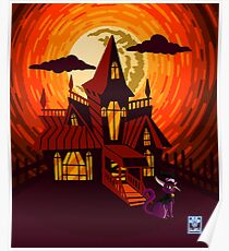 Haunted House WITHOUT WORDS Poster