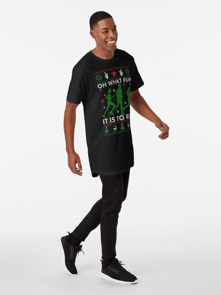 Alternative Ansicht von Hässliches Weihnachtst-stück laufen Longshirt