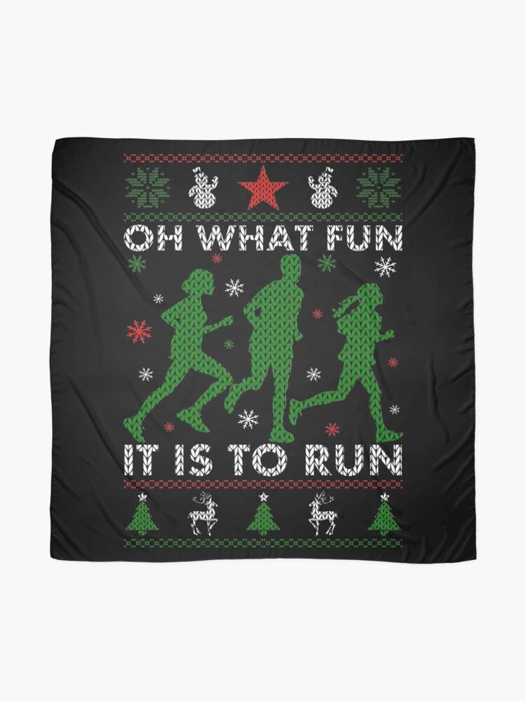 Alternative Ansicht von Hässliches Weihnachtst-stück laufen Tuch