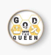 god save the queen_2 Clock