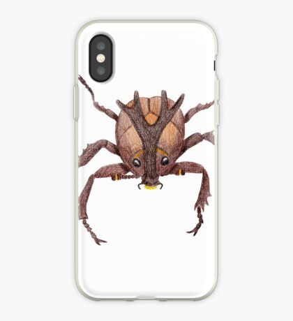 Japanese Rrhinoceros Beetle iPhone Case