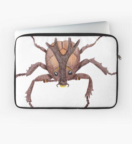 Japanese Rrhinoceros Beetle Laptop Sleeve
