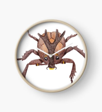 Japanese Rrhinoceros Beetle Clock