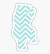 Chevron Millie Sticker