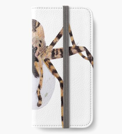 Spider with an Egg Sack iPhone Wallet