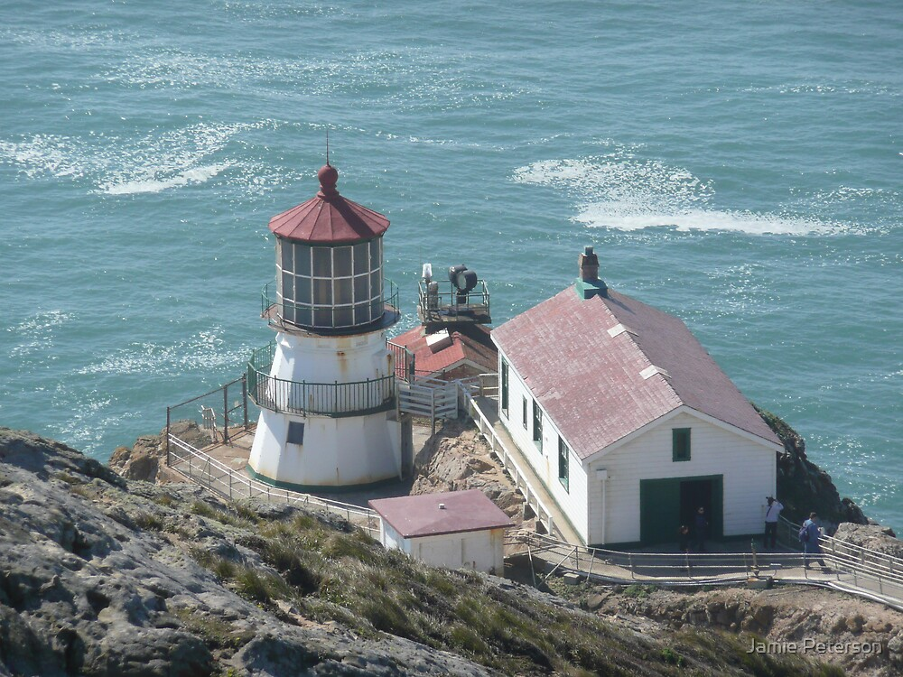 Pt Reyes Lighthouse View 2 by Jamie Peterson