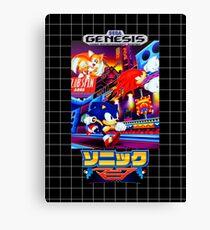 Sonic Mania Game Sega Genesis Japanese Canvas Print