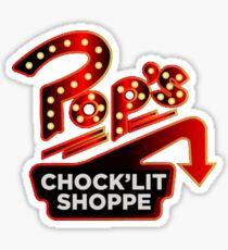 Pop's Diner- Riverdale Sticker