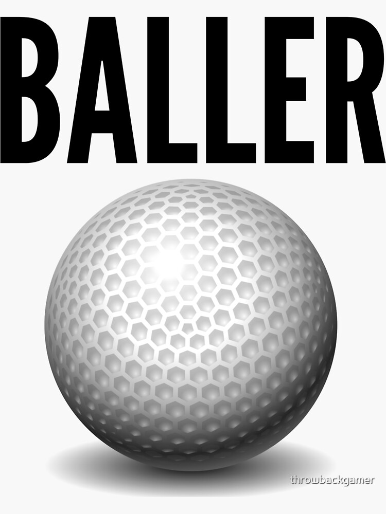Golf Baller Gift Idea by throwbackgamer