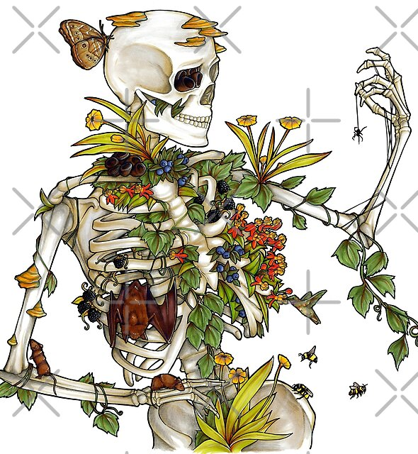 Bones and Botany by Elizabeth Moss