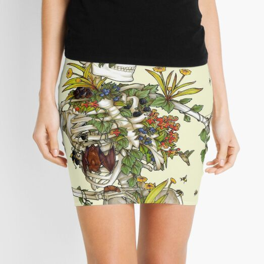 Bones and Botany Mini Skirt