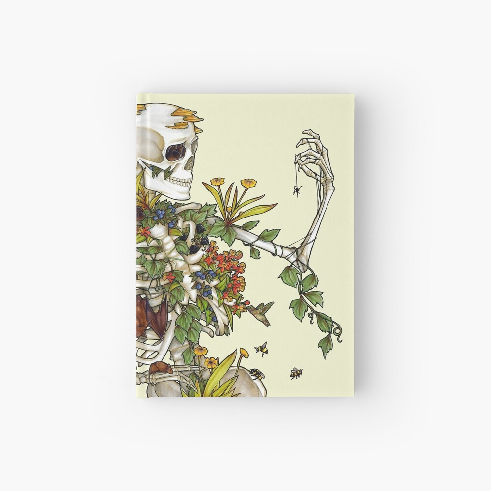 Bones and Botany Hardcover Journal