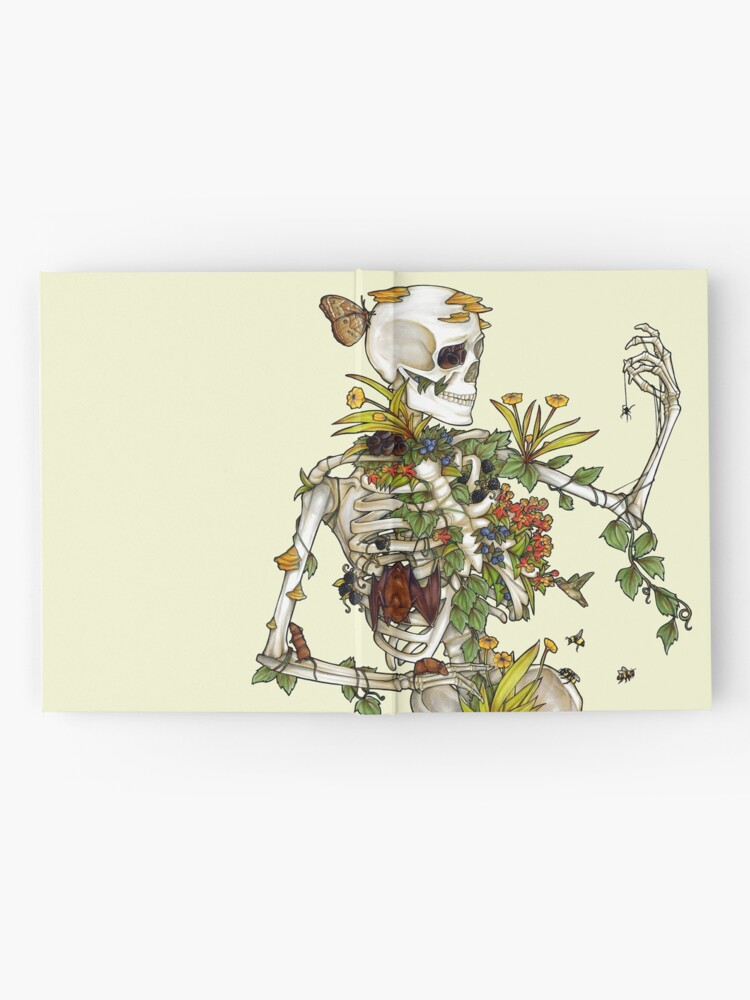 Alternate view of Bones and Botany Hardcover Journal