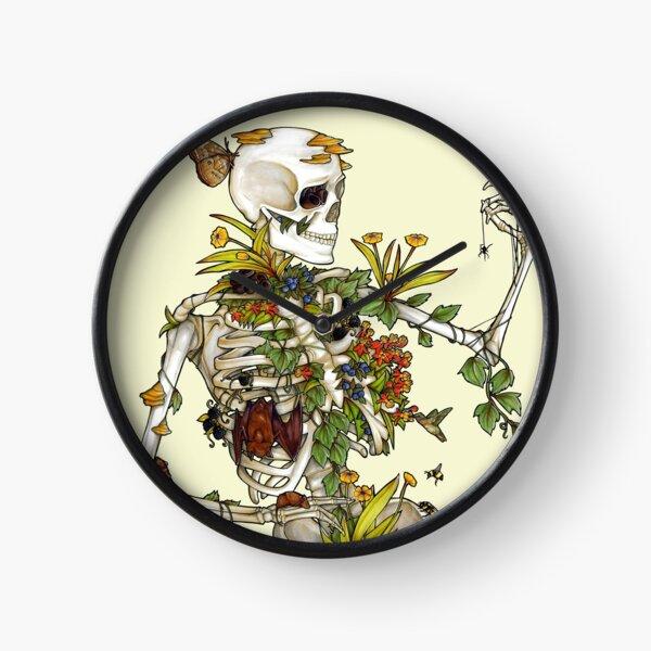 Bones and Botany Clock