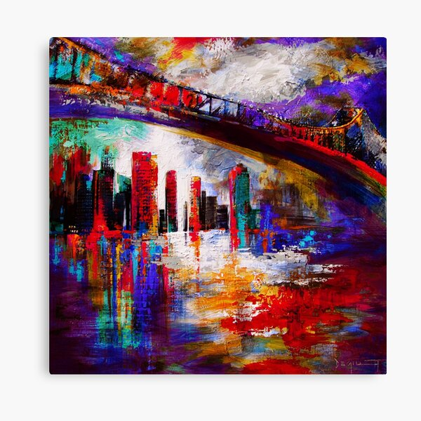 Bris-side story Canvas Print
