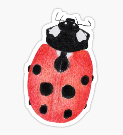 Ladybug Glossy Sticker