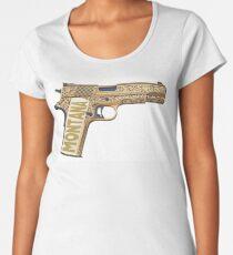 Golden gun  Women's Premium T-Shirt