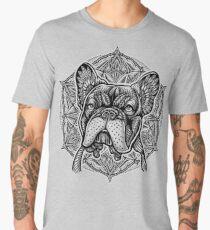 Frenchie Bulldog Mandala Men's Premium T-Shirt