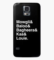 JB Weiß Hülle & Klebefolie für Samsung Galaxy