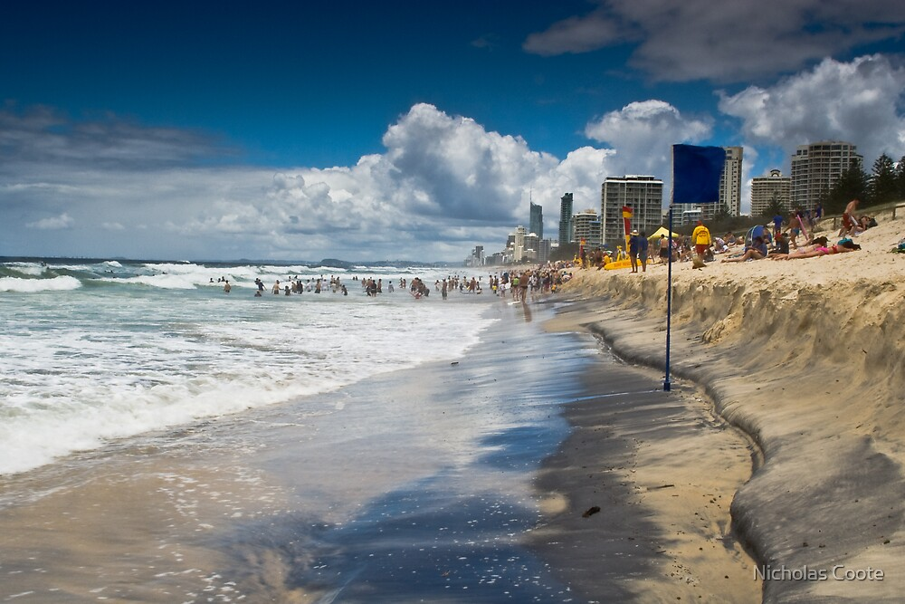 Main Beach - Gold Coast by Nicholas Coote