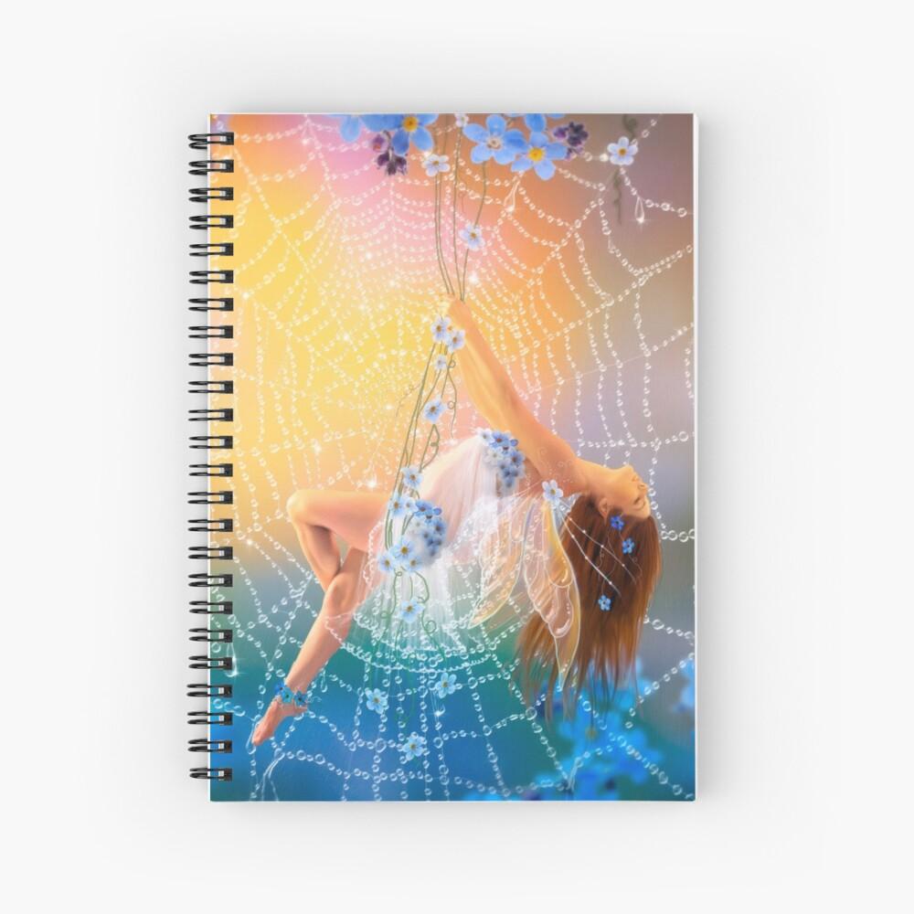 Little Blue Spiral Notebook