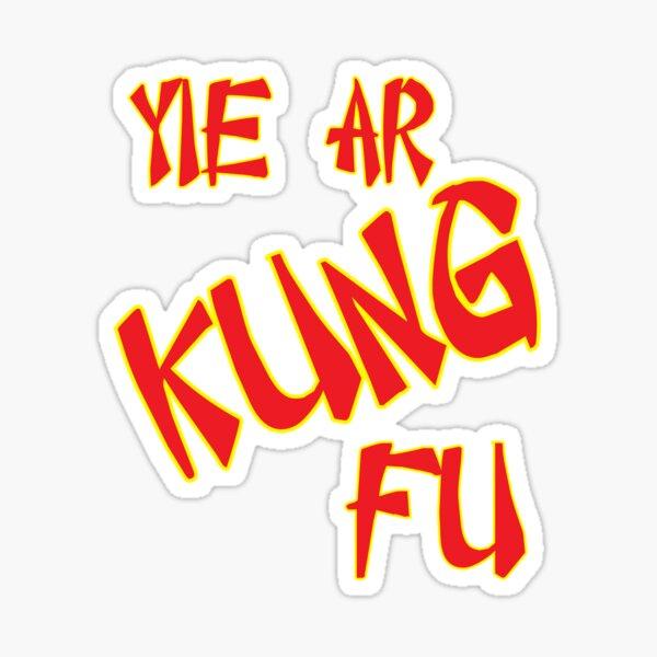 Yie Ar Kung-Fu Sticker