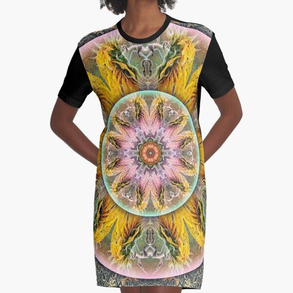 Jitterbug Graphic T-Shirt Dress