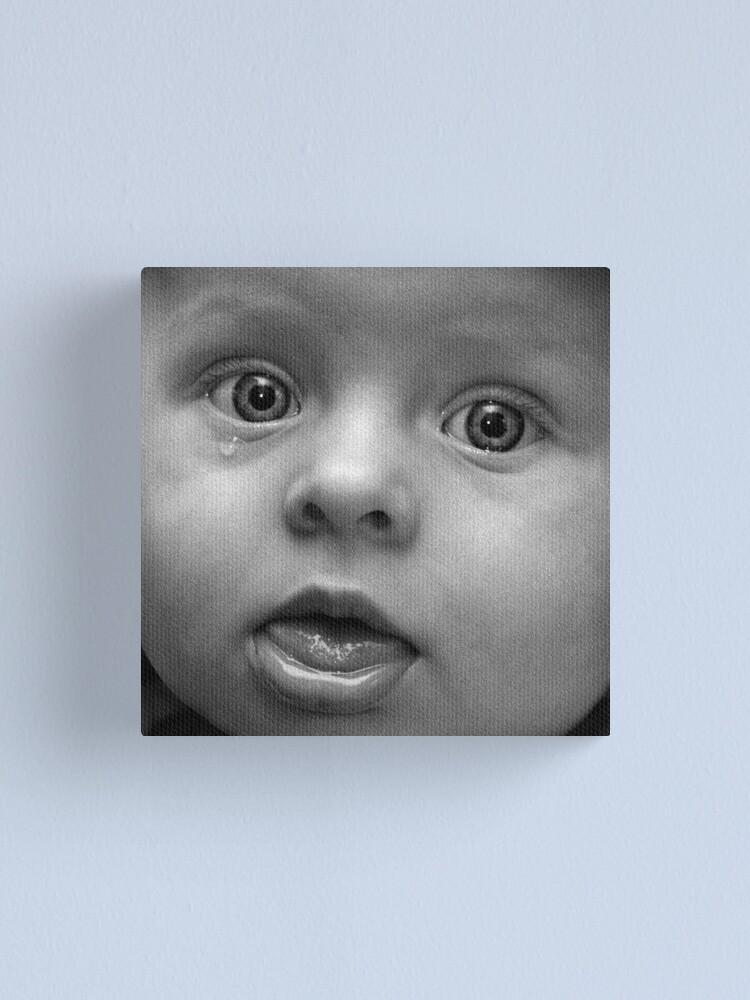 Alternate view of Tear Canvas Print