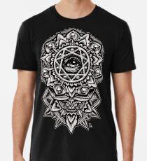 Camiseta premium Ojo de Dios Flower Mandala