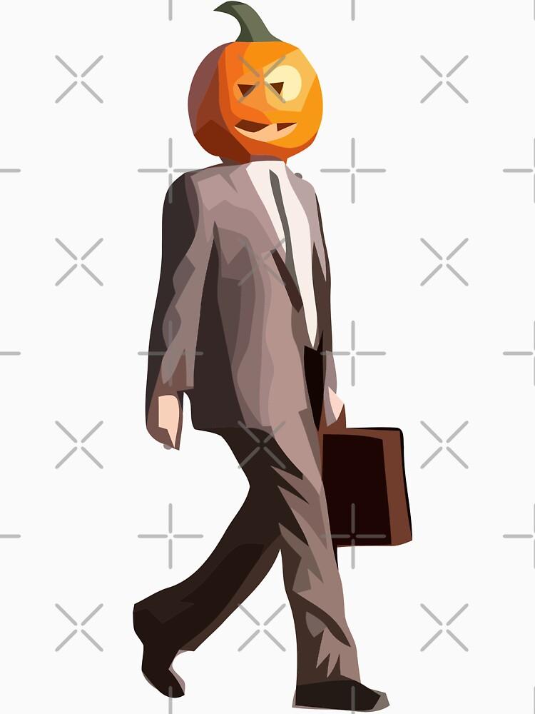 Pumpkin Head Dwight by GloriousWax
