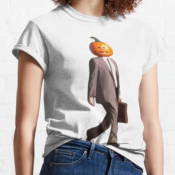 Pumpkin Head Dwight Classic T-Shirt