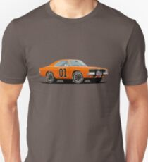 """1969 Dodge Charger R/T · """"General Lee"""" · The Dukes of Hazzard TV Show  T-Shirt"""