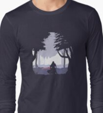 Kylo Ren - Minimal Long Sleeve T-Shirt