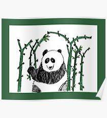 Lazy Panda - by Matthew Hepford Poster