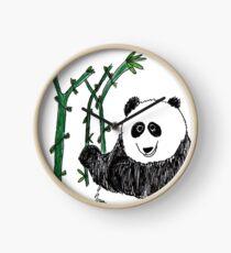 Lazy Panda - by Matthew Hepford Clock