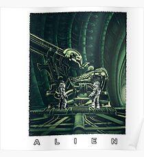 Alien Shirt Poster
