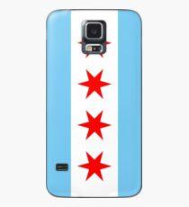 Chicago-Flagge Hülle & Skin für Samsung Galaxy