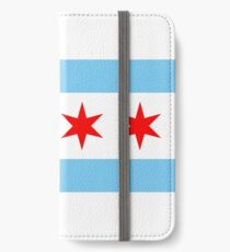Chicago-Flagge iPhone Flip-Case/Hülle/Klebefolie
