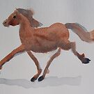 Galloping Horse by Nancy Mauerman