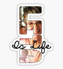 Leta Is Life Design Sticker