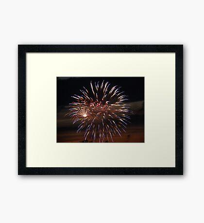 Fireworks #5 Framed Print
